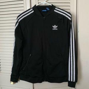 Adidas Black & White Track Jacket